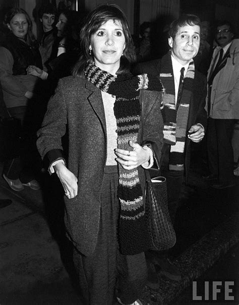 Carrie Fisher and Paul Simon   Carrie Fisher   Pinterest