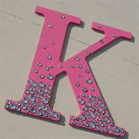 hot pink bling sparkle wall letters search pink  sparkle