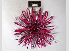create a gift Velvet Fireworks Bow Pink