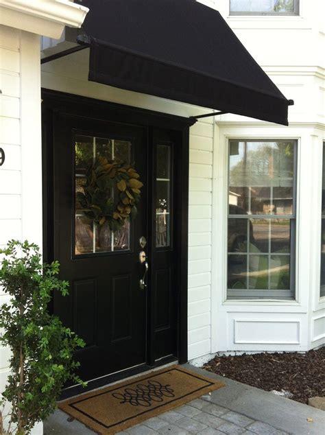 inspired design front door awning awning  door