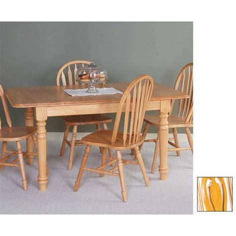 rectangular oak dining table shop sunset trading sunset selections light oak