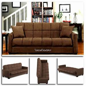 futon convertible couch sofa bed microfiber sleeper living With microfiber sofa bed sleeper couch set