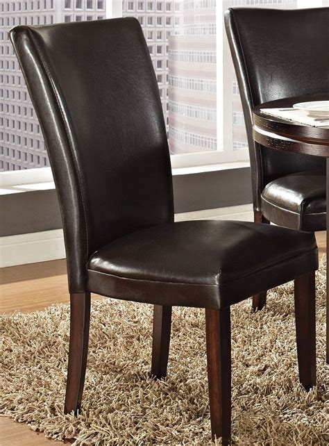 hartford brown parsons chair set of 2 from steve silver