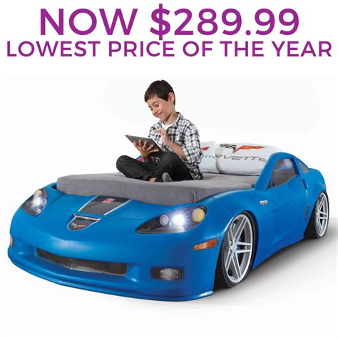 Corvette Toddler Bed by Step2 Daily Deal Corvette Toddler To Bed With