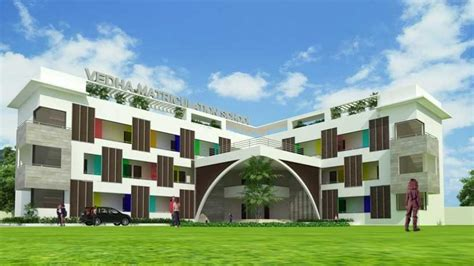 school building architecture design  chennai top