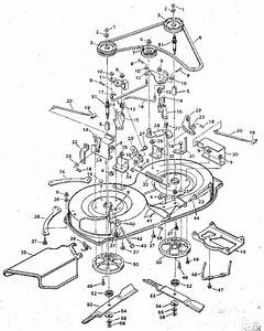 Mower Housing Diagram  U0026 Parts List For Model 938600 Murray
