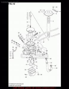 31 Suzuki Intruder 1400 Carburetor Diagram