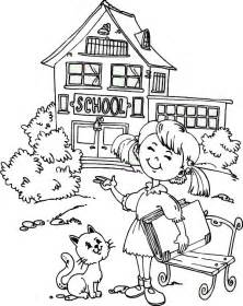 Going Back to School Coloring Page