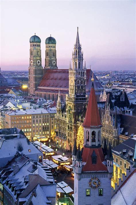 Marienplatz Munich Germany Wanderlust Pinterest