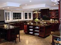 nice kitchen wood tile kitchen floor tiles that match cherry wood cabinets ...