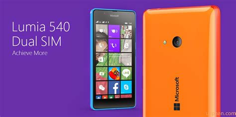 meet the new lumia 540 onetechstop