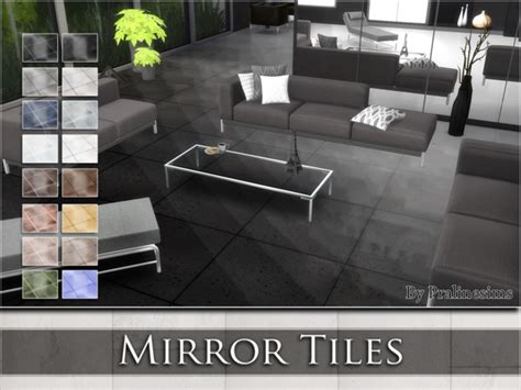 floor mirror sims 4 mirror tiles by pralinesims at tsr 187 sims 4 updates
