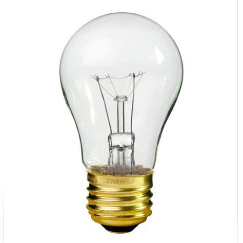 satco s3810 40 watt a15 appliance bulb