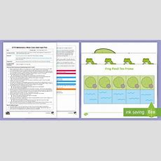 * New * Eyfs Maths Four Frogs Addition Game Whole Class