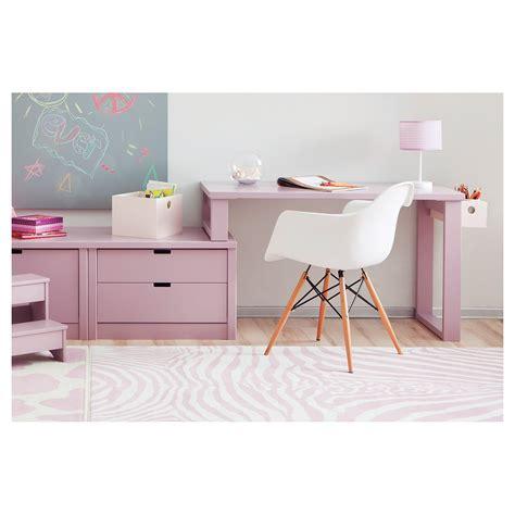 bureau bebe fille bureau pour enfant design avec caissons de rangement asoral