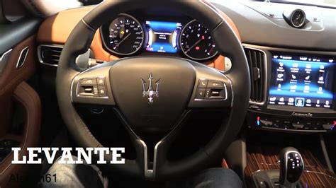maserati interior 2017 maserati levante interior review youtube