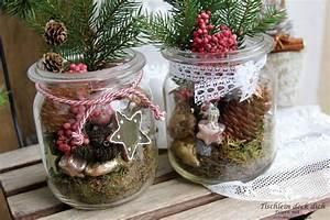 Kerzen Im Weckglas : weihnachten vintage total tischlein deck dich ~ Frokenaadalensverden.com Haus und Dekorationen