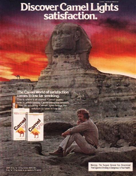camel cigarettes vintage ad discover camel lights