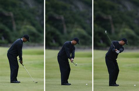 tiger woods swing swing sequence tiger woods then and now national club