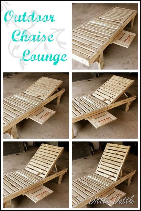 pallet furniture gallery diy chaise lounge chairs
