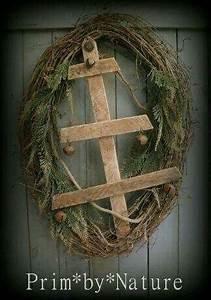1000 ideas about Primitive Wreath on Pinterest