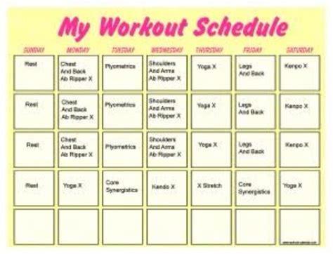 workout schedule  women  kirandeep kour musely
