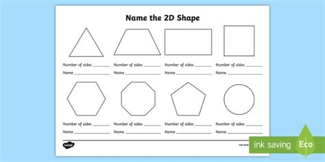 name the 2d shape ks1 worksheet worksheet ks1 2d shape 2d