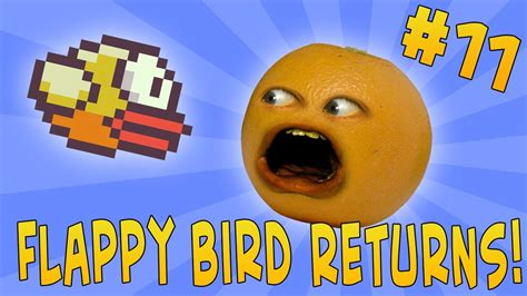annoying orange  orange  flappy bird returns