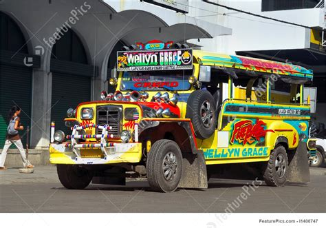 jeepney philippines art picture of colorful filipino jeepney