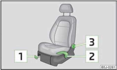 r lage si e conducteur skoda fabia réglage des sièges avant variante 1