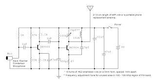 Wireless Microphone Schematic Electronic Schematics