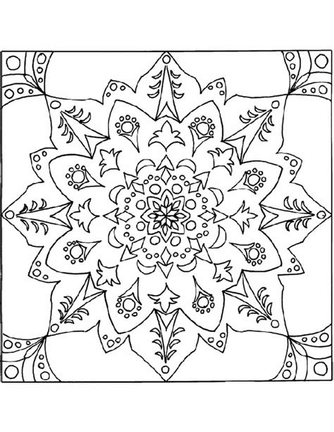 Mandala Kleurplaten by Kleuren Nu Bloemen Mandala Kleurplaten