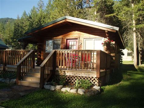 The Glacier Cabin Montana Shed Rustic Pet Friendly Log Cabin To Vrbo
