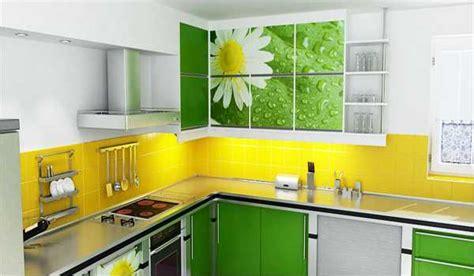 yellow and green kitchens интерьер желто зеленой кухни фото идеи дизайна 1687