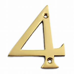 polished brass 3 inch house numbers letters rch supply co With 3 inch metal letters