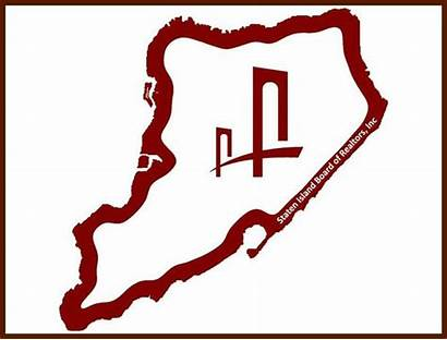 Island Staten Outline Map Icon