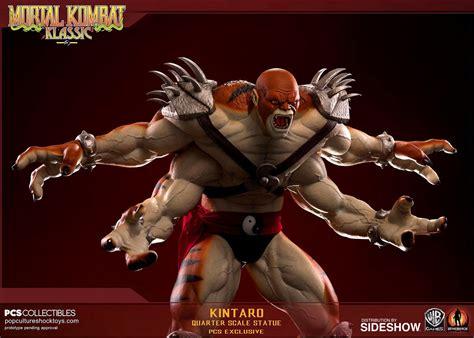 Mortal Kombat Kintaro Shokan Roar Statue By Pop Culture