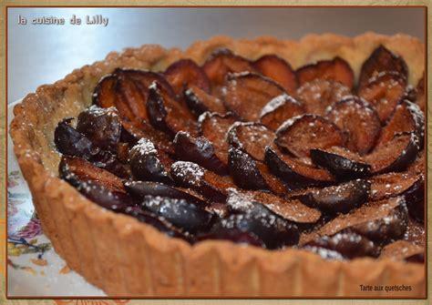 tarte aux quetsches p 226 te brioch 233 e la cuisine de lilly