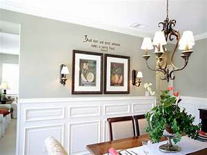 Walls country dining room wall decor ideas modern