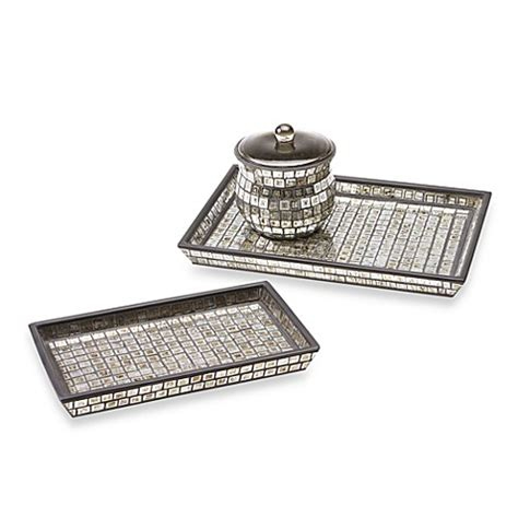 Buy Bombay™ Moroccan Bath Small Glass Vanity Tray From Bed