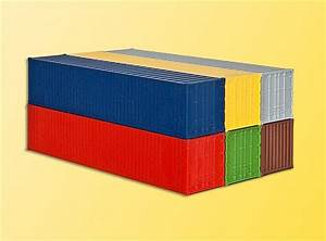 40 Fuß Container In Meter : kibri 10922 h0 40 fuss container ebay ~ Whattoseeinmadrid.com Haus und Dekorationen
