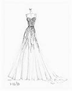 Wedding Dresses Sketches