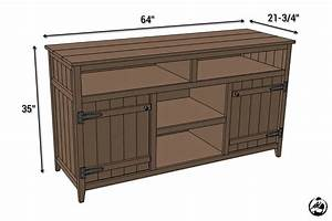 Rustic Media Center { Free DIY Plans } Rogue Engineer