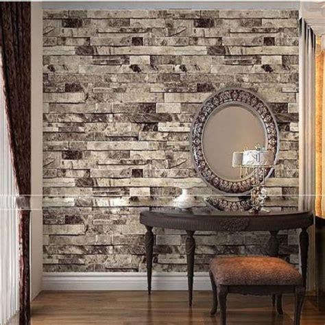 qihang  dimensional wallpaper brick wall wallpaper