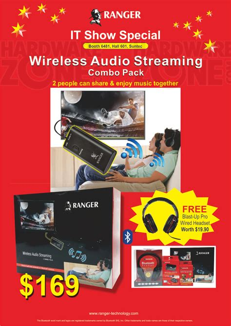portal to gaming ranger wireless audio brochures from it show