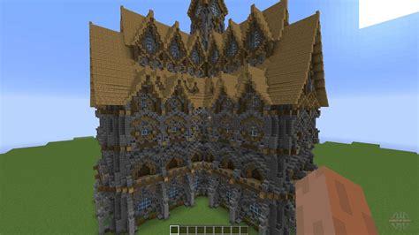 big medieval house  minecraft