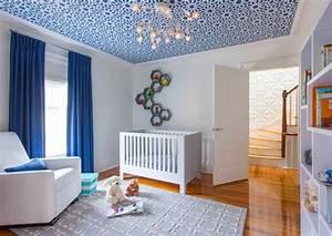 Idée Déco Chambre Bébé Garçon : d coration chambre b b gar on en bleu 36 id es cool ~ Nature-et-papiers.com Idées de Décoration