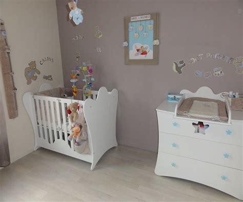 chambre bébé design idee peinture chambre bebe garcon home design nouveau et