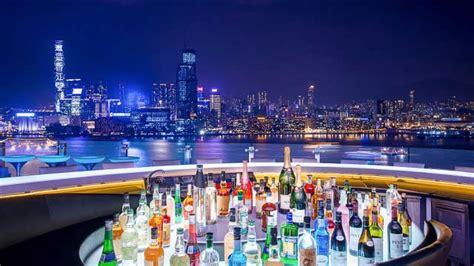 rooftop bars  hong kong  update