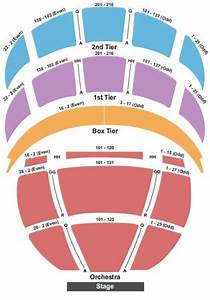 Kennedy Center Opera Seating Chart Kennedy Center Opera House Tickets In Washington District
